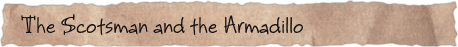 The Scotsman and the Armadillo