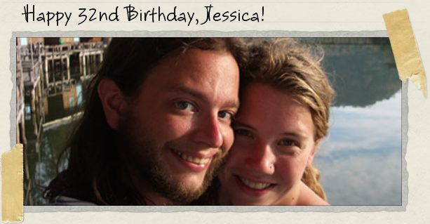 Happy 32nd Birthday, Jessica!