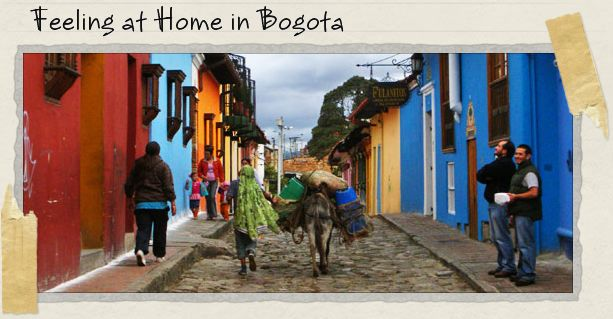 Feeling at Home in Bogota