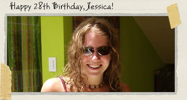 Happy 28th Birthday, Jessica!