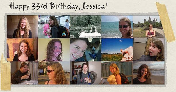 Happy 33rd Birthday, Jessica!