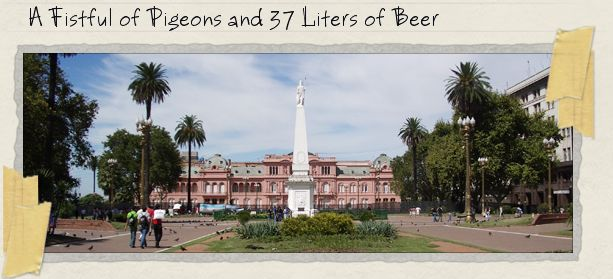 A Fistful of Pigeons and 37 Liters of Beer