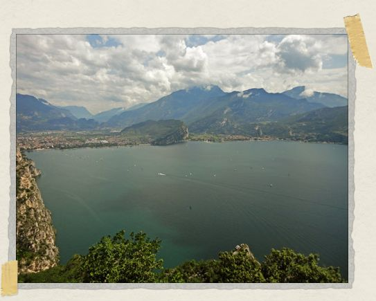 'We could easily have spent weeks at Lake Garda