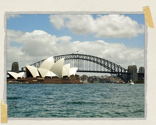 'Sitting across the bay from the Sydney Opera House and Harbour Bridge