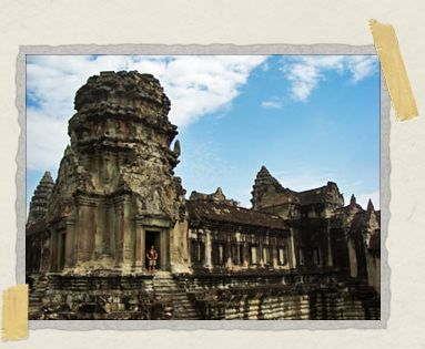 'Angkor Wat, the largest religous building in the world