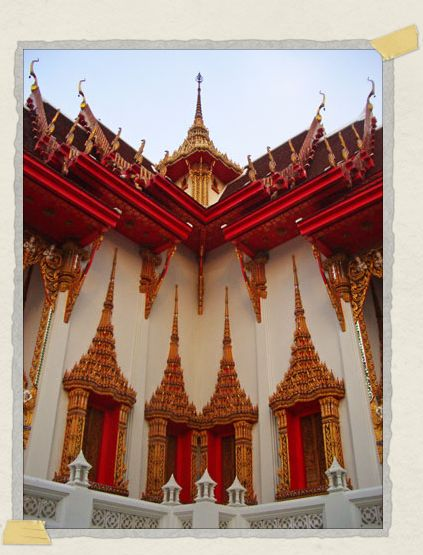 'The symmetry found in the buildings of Bangkok never got too old to photograph again and again