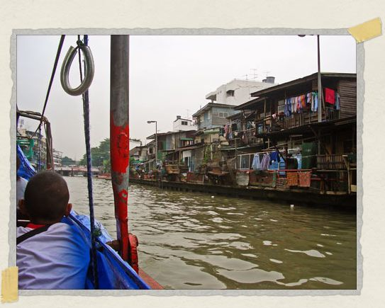 'Taking a river taxi through Bangkok is a great way to avoid traffic and see some interesting sights
