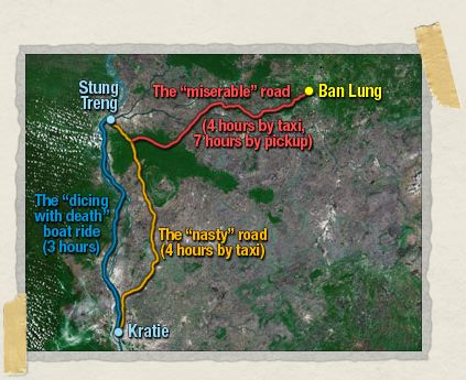 'The road from Stung Treng is the problem with getting to Ban Lung