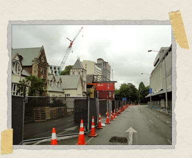 'The barrier cordoning off Christchurch's CBD