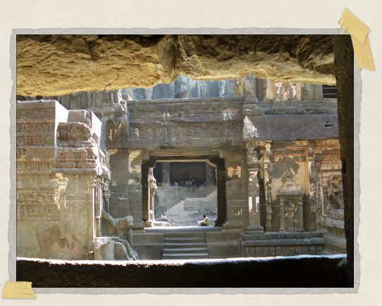 'Mighty Kailasa Temple, truly one of the most astounding things we've ever seen...