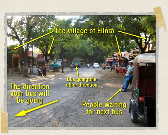 'Bustling downtown Ellora: where the party's at