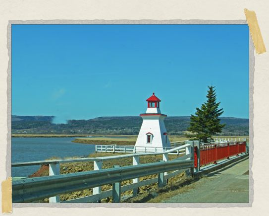 'There's loads of farmland around the Bay of Fundy...and, of course, water too!