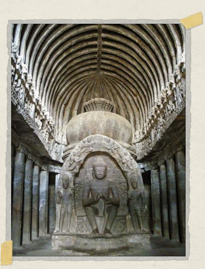 'Located in Ellora, this is one of the most humbling temples we've ever visited in the world