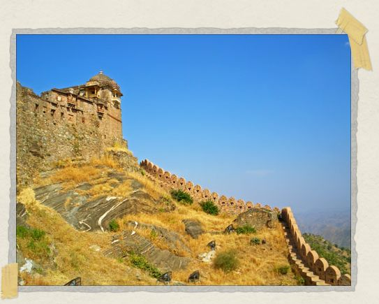 'The walls of Kumbalgarh Fort are second in length in the world after the Great Wall of China