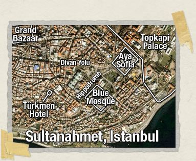 'The Turkmen Hotel is located right in the heart of Sultanahmet
