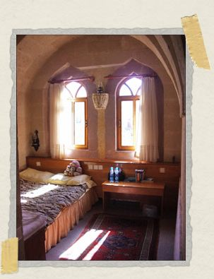 'Our room at the Göreme Walnut House, with the most comfortable bed in the world