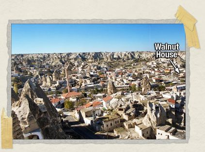 'Göreme, nestled in the heart of Cappadocia. Pretty cool, huh?