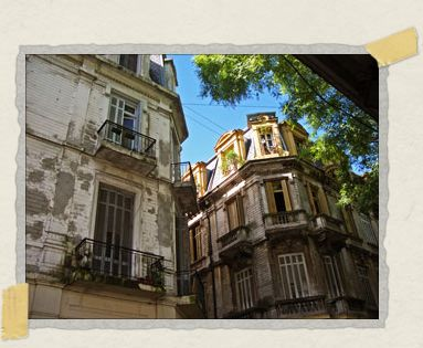 'The marvelous old colonial architecture of Buenos Aires
