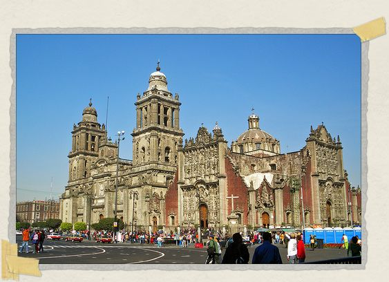 'Catedral Metropolitana, the largest church in the Americas
