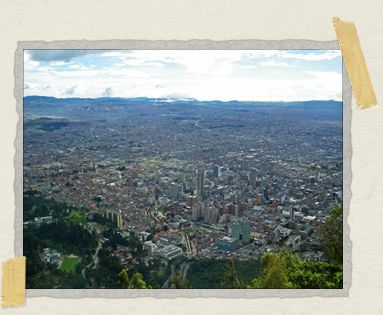 'The view from the top of Monserrate
