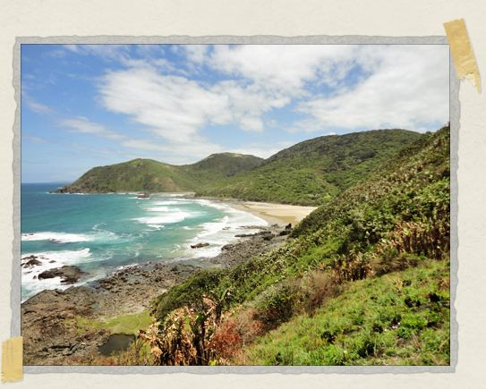 'Hiking through the Silaka Nature Reserve in the Eastern Cape