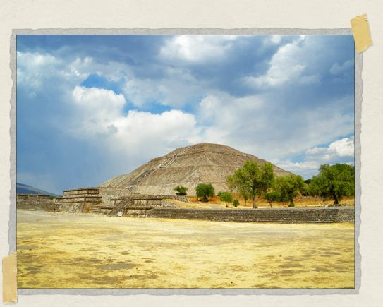 'The third largest pyramid in the world: the Pyramid of the Sun
