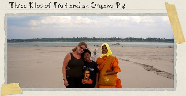 Three Kilos of Fruit and an Origami Pig